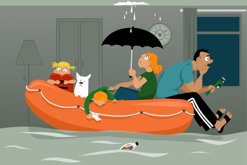 Steps To Take After Your Home Floods During a Hurricane